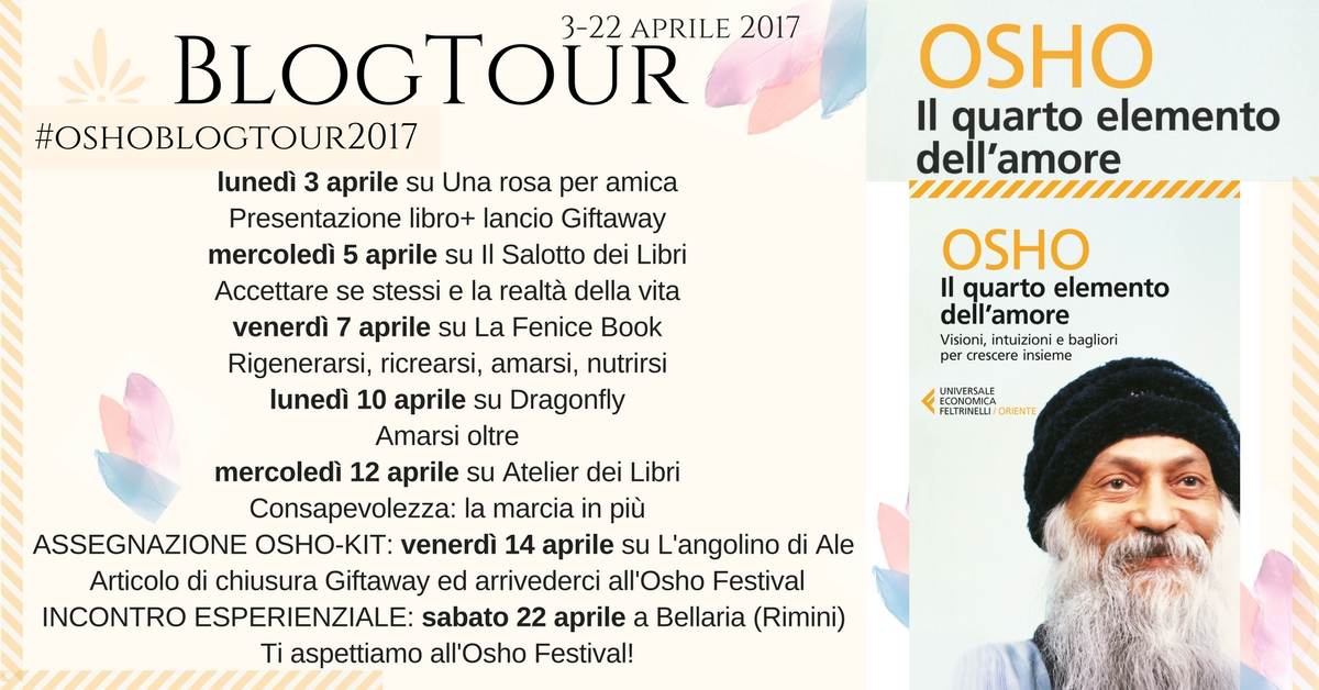 Tappe Blogtour #oshoblogtour2017